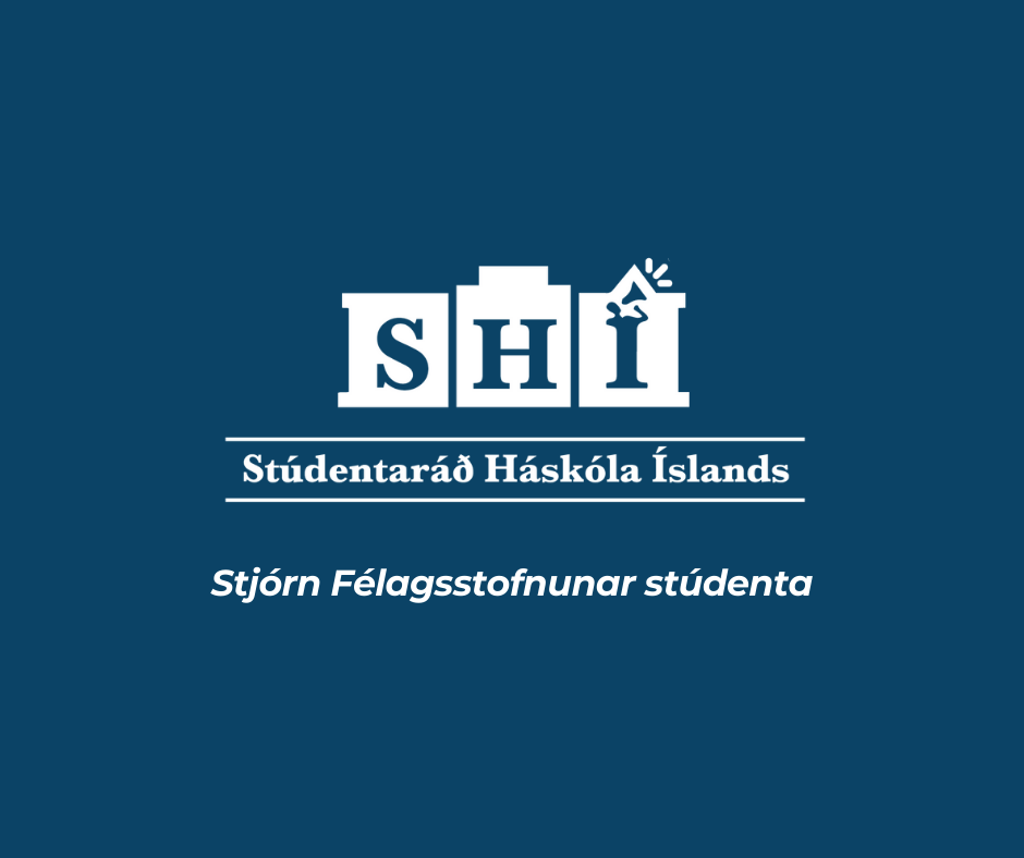 The Student Council is looking for student representatives for the board of the Icelandic Student Services